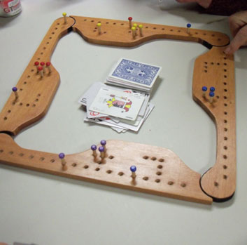 Pegs And Jokers Game